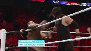 Kane and Daniel Bryan vs Prime Time Players #1 Contenders Match WWE Raw 9/10/12