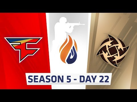 ECS Season 5 Day 22 Faze vs NIP - Overpass