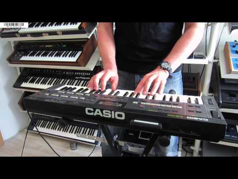 """CASIO CZ-101 PD Synthesizer """"COSMOSYNTH"""" (1984)"""