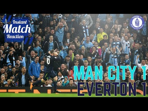 Manchester City 1-1 Everton | Rooney Joins 200 Club | Instant Match Reaction