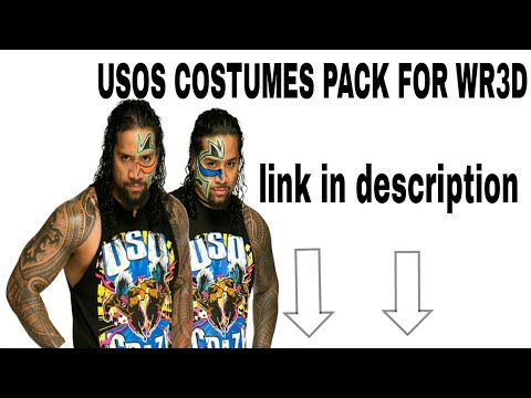 THE USOS LATEST COSTUMES PACK FOR WR3D/WRESTLING REVOLUTION