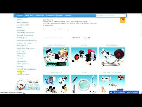 Skræddersyede industri køleskabspakninger - Sådan bestiller du - Video guide