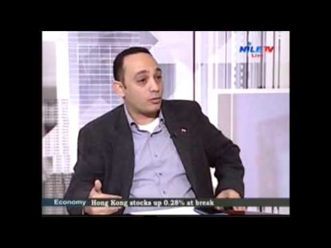 Dr. Freddy Elbaiady commenting on News headlines of Egypt and the region Nile TV 9 12 2013