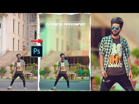 How To Blur Background In Photoshop Like Expensive DSLR Camra | Photoshop Color Grading