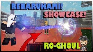 [NEW UPDATE ] RENARUKAMI SHOWCASE! Ro-Ghoul   ROBLOX