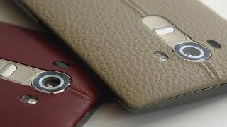 Hands-On With the New Leather-Clad LG G4 Phone