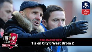 Video Gol Pertandingan Exeter City vs West Bromwich Albion