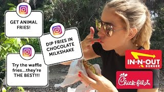 Canadians Try American Fast Food.. WORTH THE HYPE?!    RachhLoves