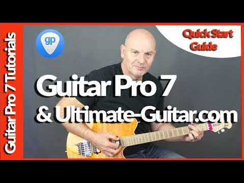 Guitar Pro 7 And Ultimate Guitar Website Tutorial