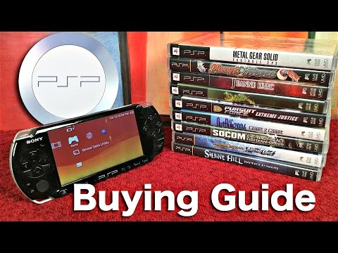 Sony PSP BUYING GUIDE & Great Games