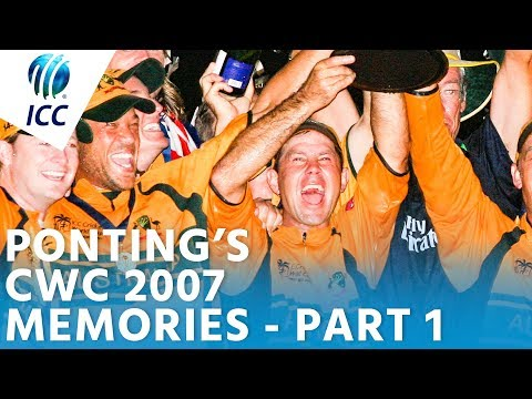 Ponting's World Cup Memories |