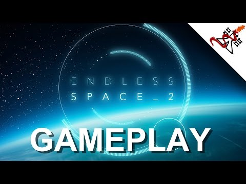 Endless Space 2 - GAMEPLAY [Futuristic Exploration 4X Turn Based Strategy Game]