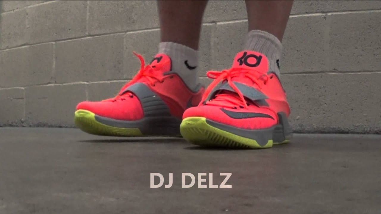 watch 57a3d 5070d Nike KD 7 35,000 Degrees DMV Sneaker On Foot Look HD SUPER DETAILED 35k 7s  VII