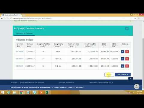 How to file GST Return online including preparation and paym