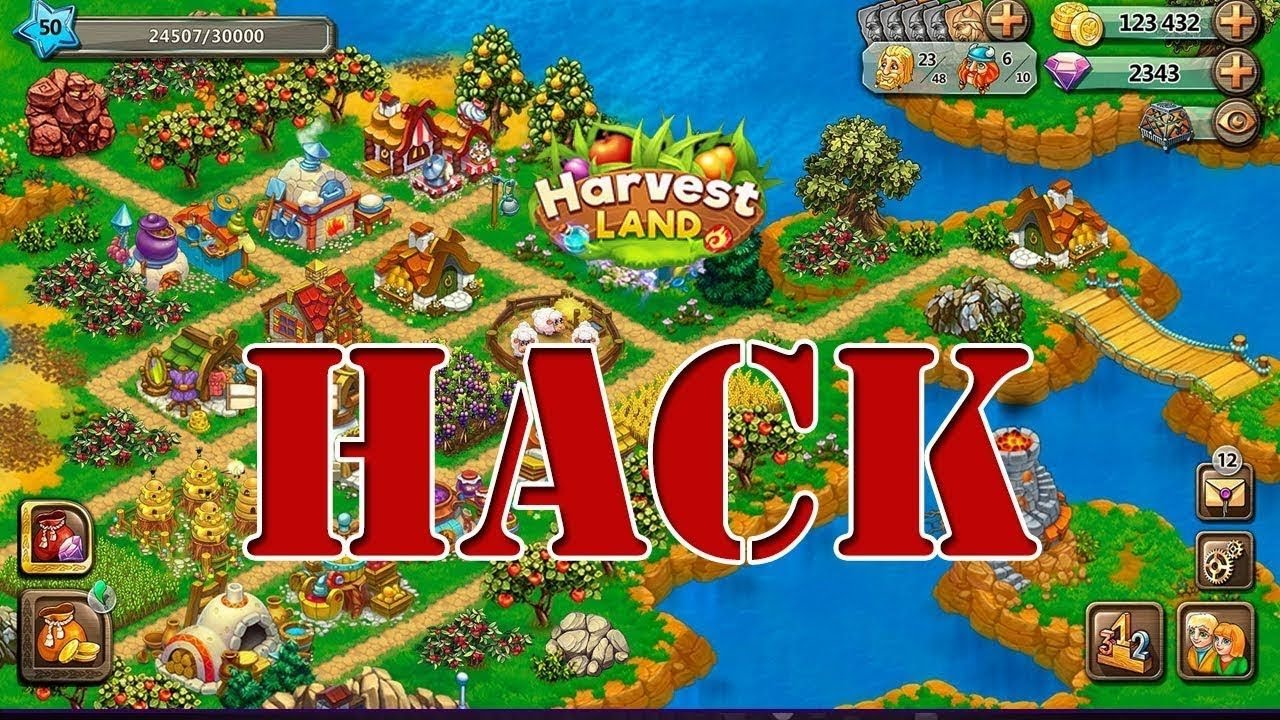 HOW TO HACK HARVEST LAND GAME IN JUST FEW SECONDS | HARVEST LAND
