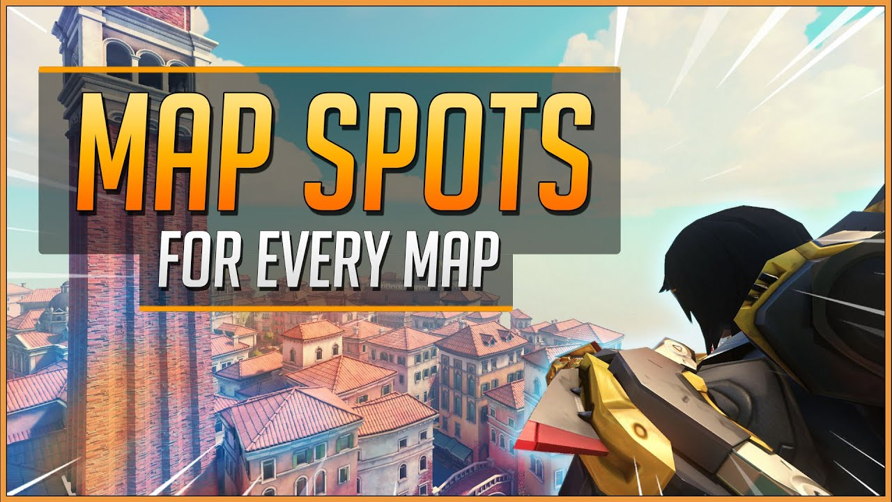 1 SPOT for EVERY MAP