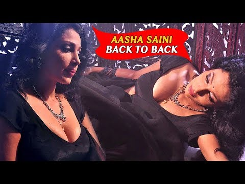 Asha Saini Back To Back Romantic Scenes - 2018 Latest Movie Scenes - Asha Saini