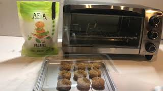 Prepare Afia Foods Delicious ready made Falafel in minutes!