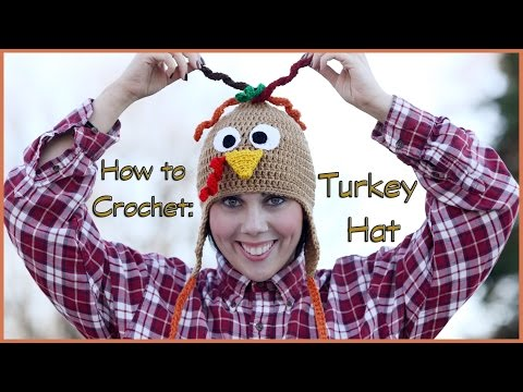 How to Crochet a Turkey Hat