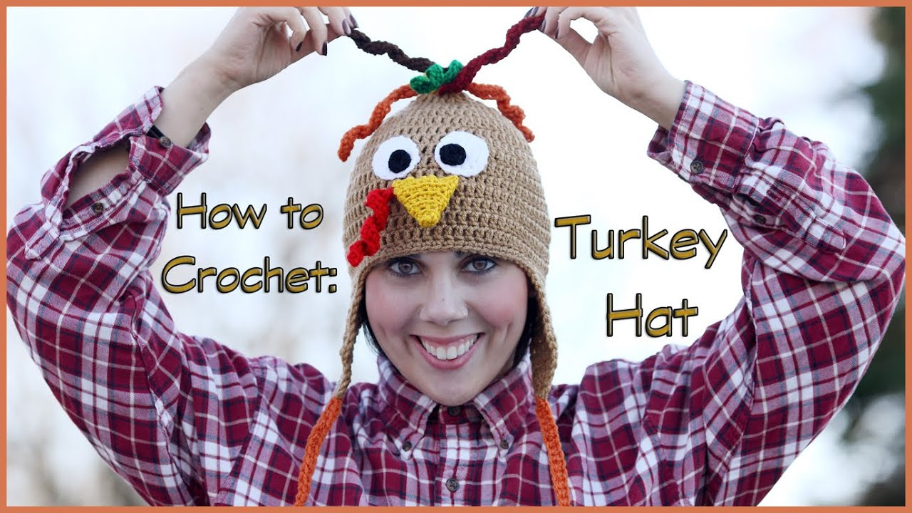 How to Crochet a Turkey Hat - YouTube 1d12411279c
