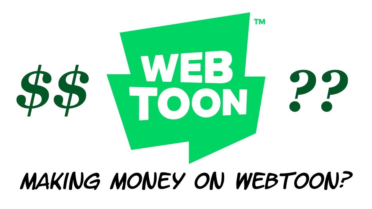 How do you make money on WEBTOON? (not great audio, sorry)