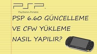 PSP v6.60 Güncelleme, v9.90 hatası çözümü ve CFW Kurulumu