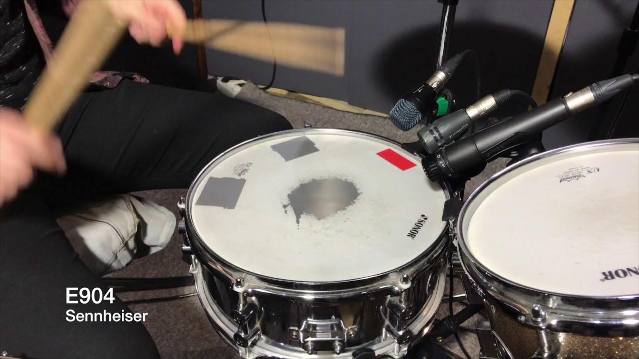 Snare Drum Vs Tom Tom : sennheiser e604 vs sennheiser e904 snare and tom drum mic shootout test youtube ~ Hamham.info Haus und Dekorationen