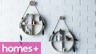 Diy Project: Circle Shelf Display - Homes+