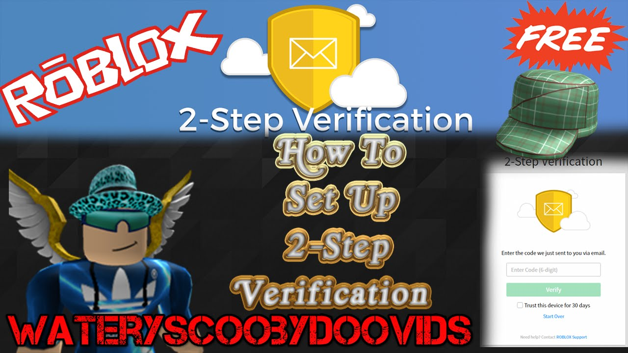 Roblox How To Activate 2 Step Verification Get A Free Hat
