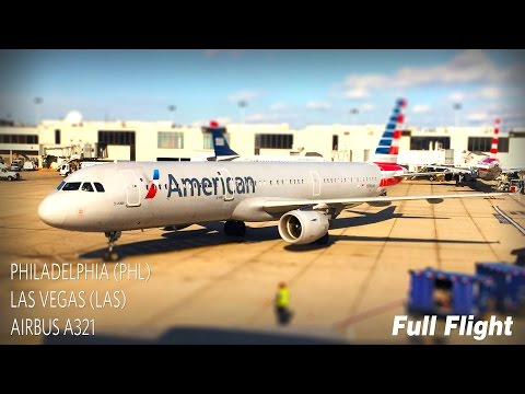 american-airlines-full-flight-|-philadelphia-to-las-vegas-|-airbus-a321-**with-atc**