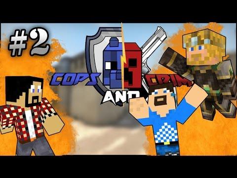 Minecraft - Cops & Crims #2 - ATOMIC MAP!
