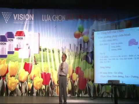 TS Ngô Đức Vượng tham luận sản phẩm Vision