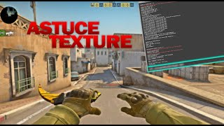 UNE OPTION FOLLE QUI CHANGE LA TEXTURE DU JEU [TUTO CSGO]
