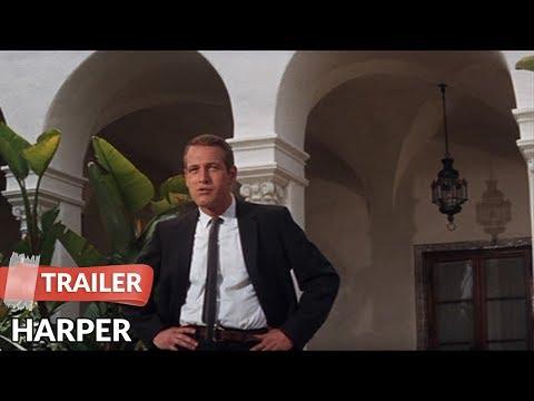 Harper 1966 Trailer   Paul Newman   Lauren Bacall