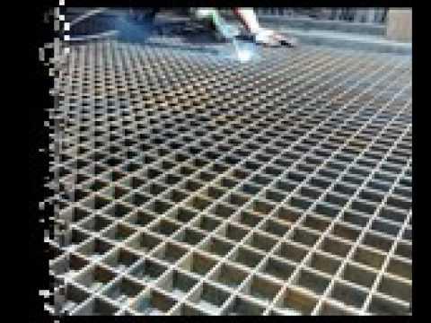 Steel Plank Grating Decorative Metal Grate Youtube