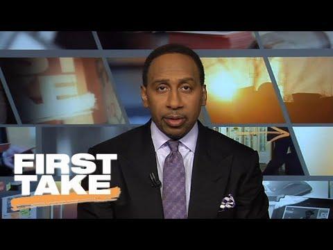 Stephen A. Smith says Ezekiel Elliott should've already served suspension | First Take | ESPN