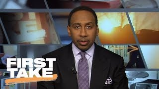 Stephen A. Smith says Ezekiel Elliott should've already served suspension   First Take   ESPN