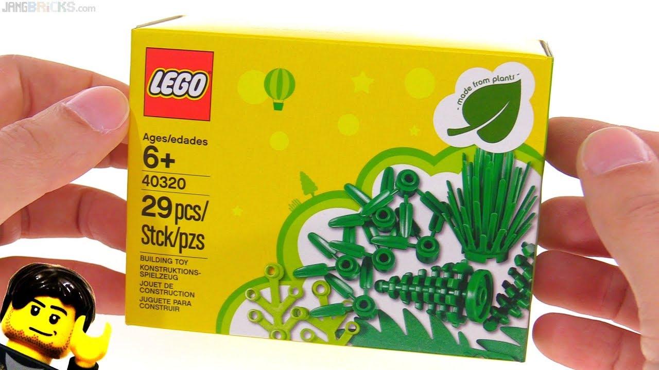 Plants Set Promo Lego From ReviewEco Mini AL534cRjq