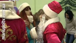 События дня 14.01.2014 (парад Дедов Морозов и Снегурочек)