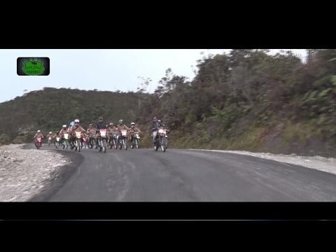Jalan Trans Papua Rampung, Panglima TNI dan KASAD Balapan Trail #Part I