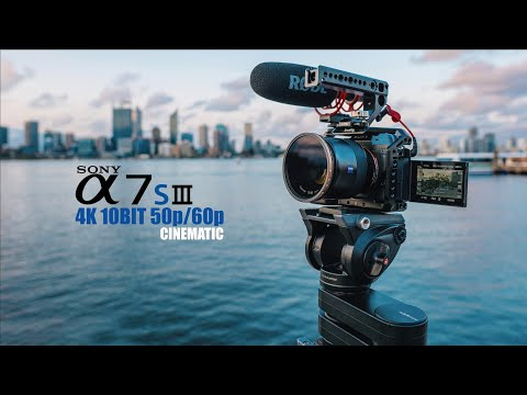 Sony A7SIII A7S3 10Bit 4K 50p/60p Video Test (Part 1)