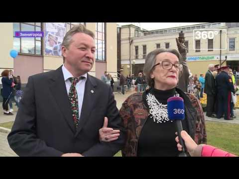 Актрисе Любови Орловой установили памятник в Звенигороде