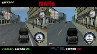 Comparison - Mafia The City of Lost Heaven Xbox vs PS2