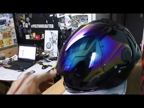 My Dads reaction to Unboxing SteelBird SBA2 helmet