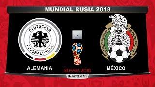 Alemania vs México | RESUMEN | Mundial Rusia 2018 ⚽  Quiniela MX