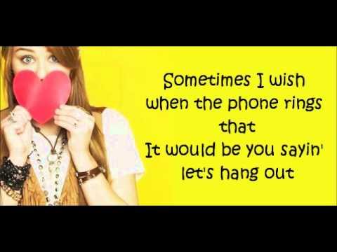 Rockstar - Miley Cyrus (Hannah Montana) lyrics