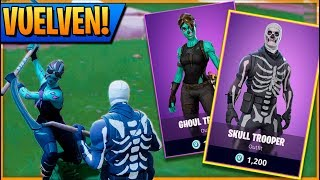 HALLOWEEN SKINS WILL RETURN TO FORTNITE: Battle Royale