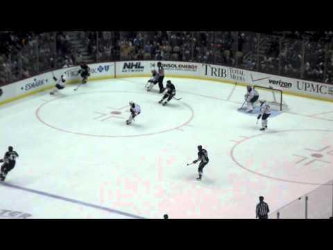 Simon Despres' First Nhl Goal- December 17, 2011