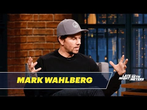 Mark Wahlberg Was Peer-Pressured into Scuba Diving in a Shark Tank