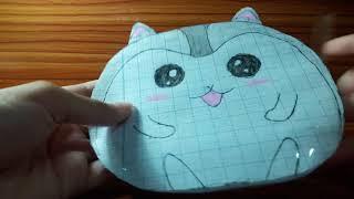 Cách làm squishy giấy chuột hamster siêu dễ thương